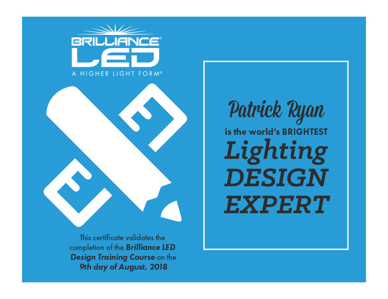 Lighting Design Expert - Patrick Ryan