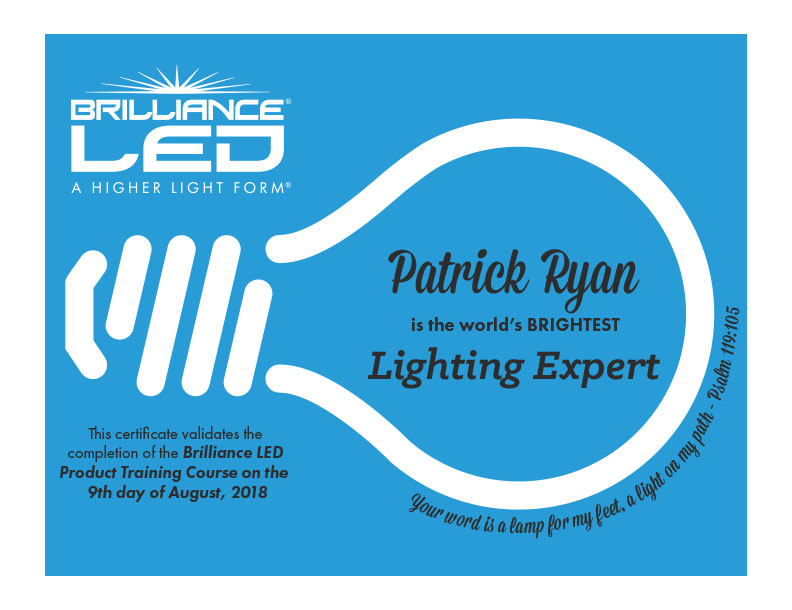 Lighting Expert - Patrick Ryan