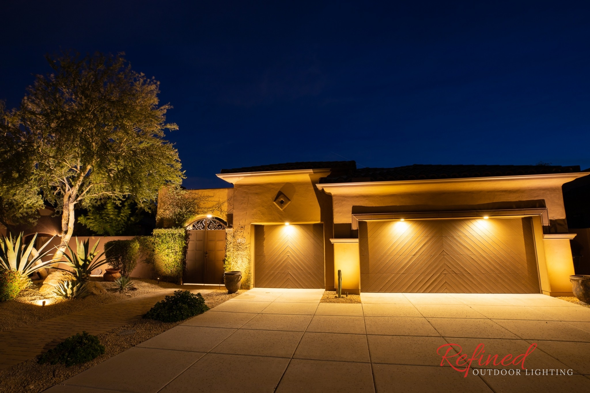 Landscape Lighting Gallery Refined